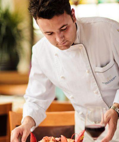 Chef Alberto Alboreggia